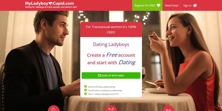 My Ladyboy Cupid homepage